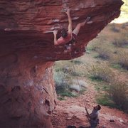 Rock Climbing Photo: Very good route. Short and pumpy!