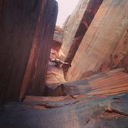 Rock Climbing Photo: Here is a good shot up the great .10 stem box. It'...