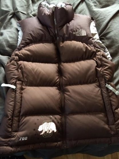 Cool vest brown xs from front