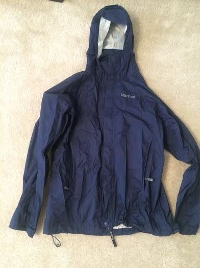 Rock Climbing Photo: Navy Marmot rain jacket men's medium