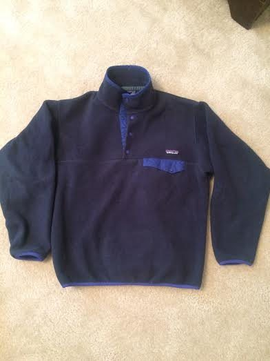 Mens small Patagonia Synchilla Pullover<br>