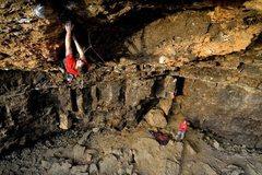 Rock Climbing Photo: Dry Lightning, approaching the potentially heart b...
