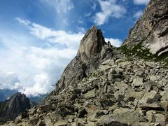 Rock Climbing Photo: Southeast side of Torre del Piz dal Päl