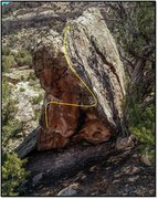 Rock Climbing Photo: Concatenator problem beta.