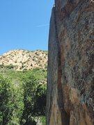 Rock Climbing Photo: A nice day at the Bun.