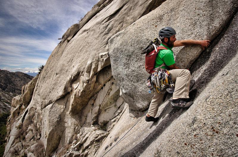 Rock Climbing Photo: Indecent Exposure