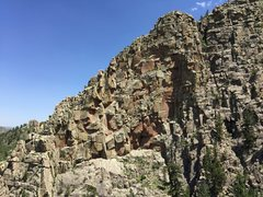 Rock Climbing Photo: The Roost overview. See Valhalla for more detailed...