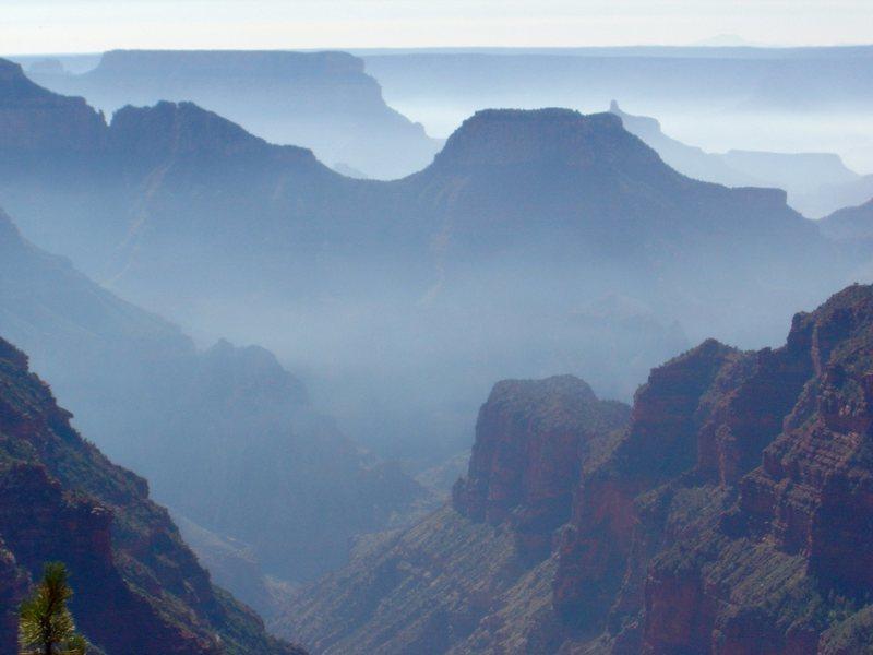 Rock Climbing Photo: Grand Canyon on fire.