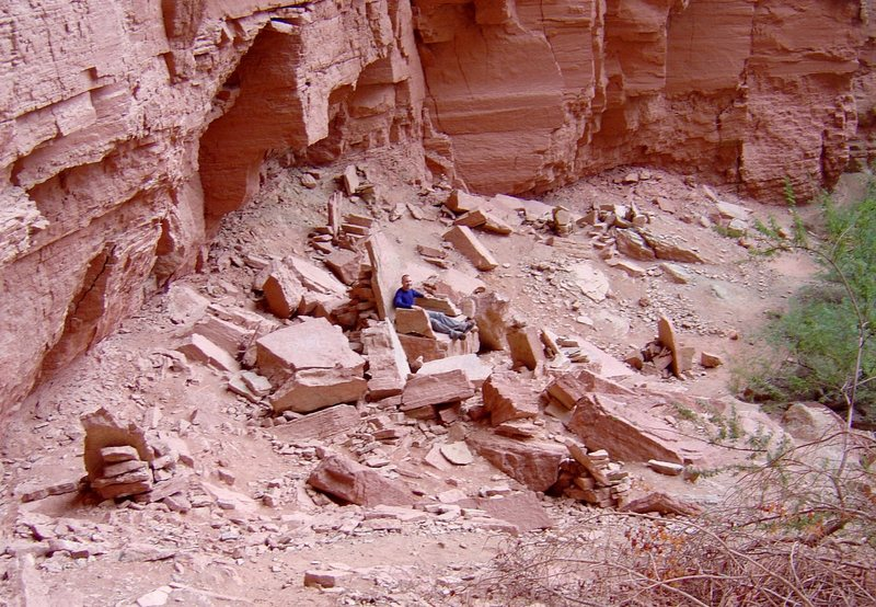 Rock Climbing Photo: Throne area, near Deer Creek Falls. G.C.N.P.