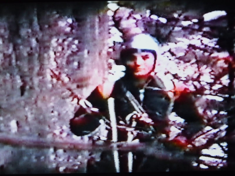 "G. Malone ""On Belay""- Henderson, Nov 1967 (photo from Super-8mm movie film)"