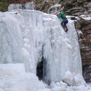 Rock Climbing Photo: free solo on a fun flow