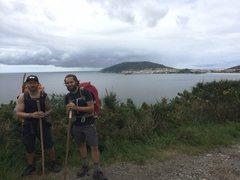 Rock Climbing Photo: last day walking the Camino de Santiago to Finiste...