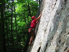 Rock Climbing Photo: Full Moon Fever at Crane Mountain