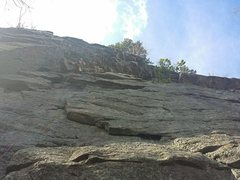 Rock Climbing Photo: leading Sixish in the Gunks