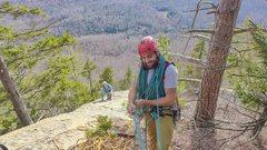 Rock Climbing Photo: Bella Vista on Crane