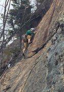 Rock Climbing Photo: yay for steep slab