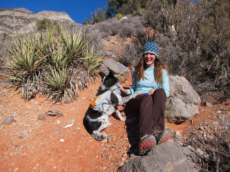 Rock Climbing Photo: Me & Tenzing