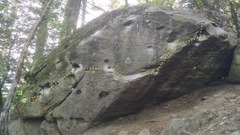 Rock Climbing Photo: Lost Keys Traverse