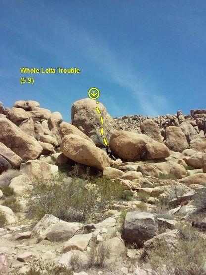 Whole Lotta Trouble (5.9), The Cemetery