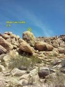 Rock Climbing Photo: Whole Lotta Trouble (5.9), The Cemetery