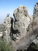 Rock Climbing Photo: Headstones a few minutes below the Boneyard