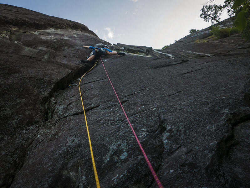 Rock Climbing Photo: P1 Southender