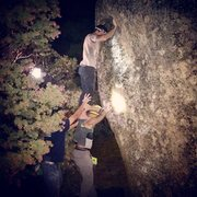 Rock Climbing Photo: South Ridge late night Shininagans!!!