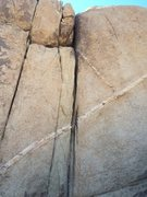 Rock Climbing Photo: Righthand crack