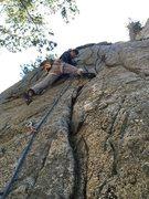Rock Climbing Photo: Twilight Time.