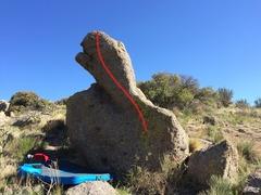 Rock Climbing Photo: Turtle Traverse