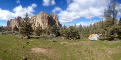 Rock Climbing Photo: smith bivy in march just prior to the spring break...