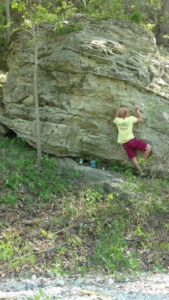 Rock Climbing Photo: 2)