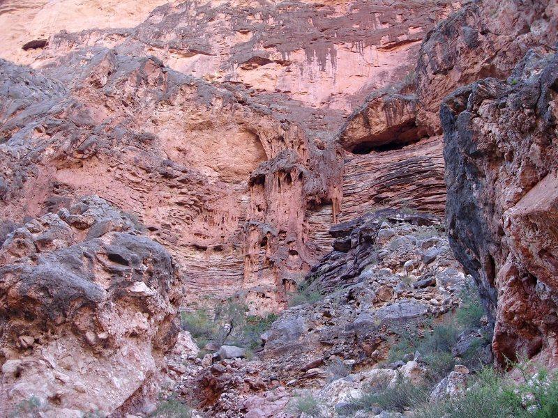 Weird rock formation in G.C.N.P.