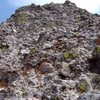 The 4th class cobble pitch on Crestone Peak to Needle traverse.