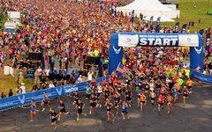 Rock Climbing Photo: Airforce Marathon (10K), 2015