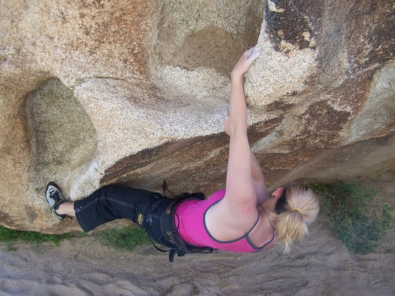 Rock Climbing Photo: Joshua Tree, CA