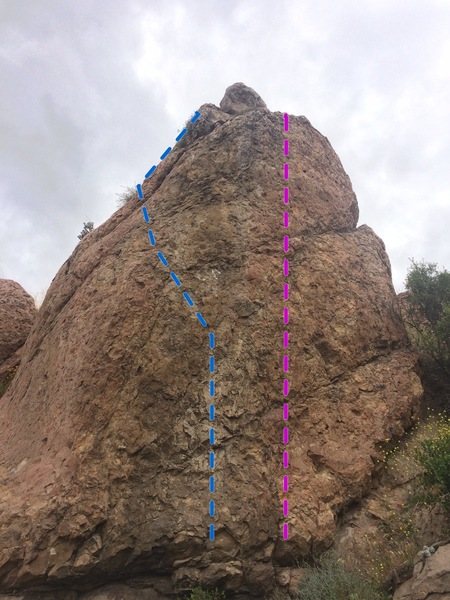 "Rock Climbing Photo: Another look at ""To The Bat Cave"" and &q..."