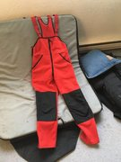 Rock Climbing Photo: Marmot Fleece bibs. Size Medium ( fits larger than...