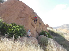"Rock Climbing Photo: Enjoying the shade on ""This Ain't My 1st Rode..."