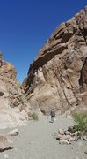 Rock Climbing Photo: Keyhole Canyon
