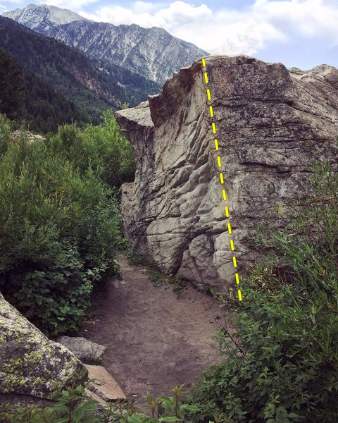 Eastern Boulder arete