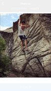 Rock Climbing Photo: Warming up
