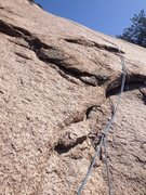 Rock Climbing Photo: The top of the climb or the second pitch if done i...