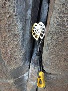 Rock Climbing Photo: route takes gear well. small nuts down low, small ...