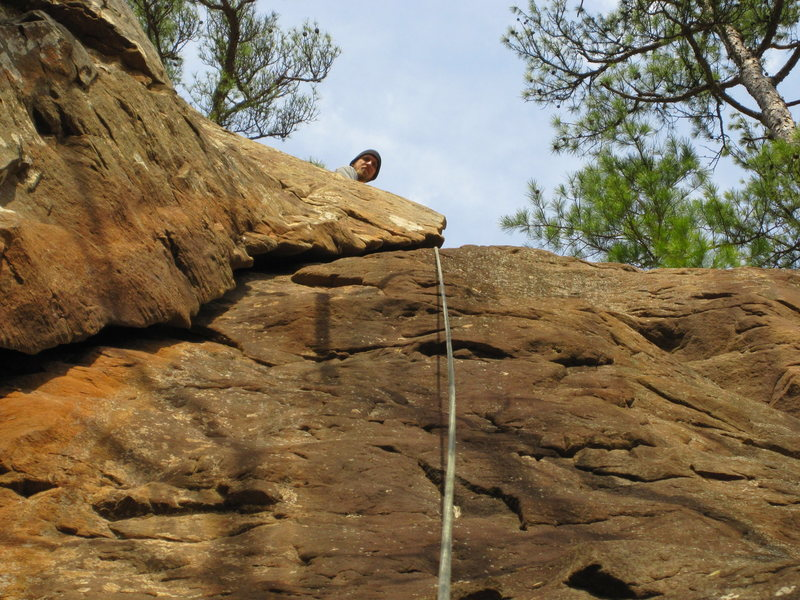 Me at the top of first time up