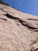 Rock Climbing Photo: Upper Beer is Better anchors