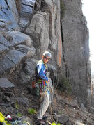 Rock Climbing Photo: A better look at the base of both  Planet Claire a...