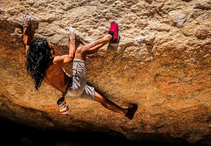 Rock Climbing Photo: Norman bouldering