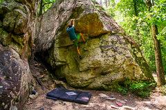 Alabama boulderer