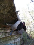 Rock Climbing Photo: My daughter Jasmine negotiating the start of &quot...